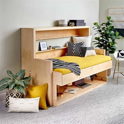 Murphy Bed Desk Combo Diy Room