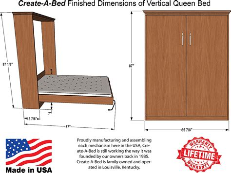 Murphy Bed Plans Instructions 1040