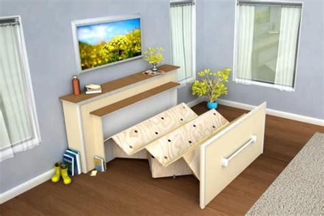 Murphy Beds Diy Pinterest