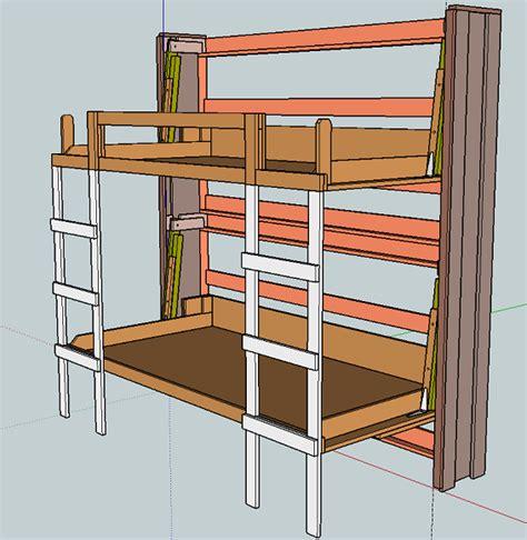 Murphy-Twin-Bunk-Bed-Plans