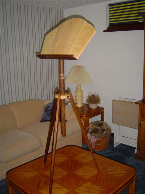 Music-Stand-Plans-Fine-Woodworking