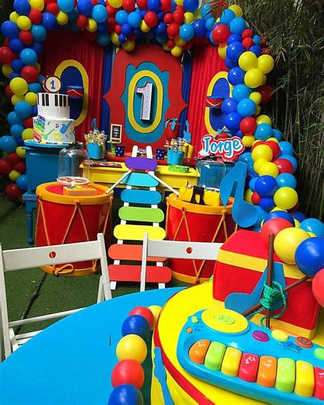 Musical Instrument Theme For Toddlers