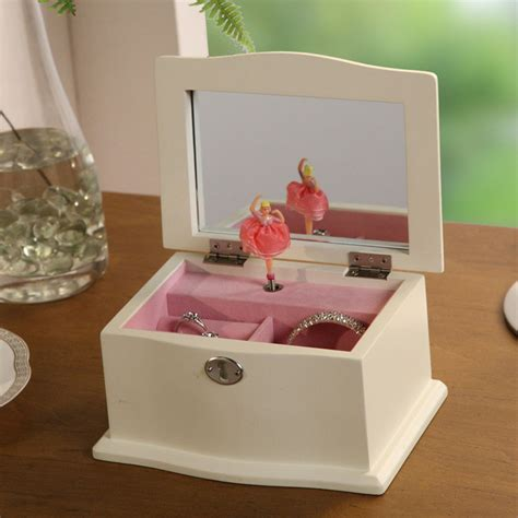 Musical Jewellery Box With Dancing Ballerina India