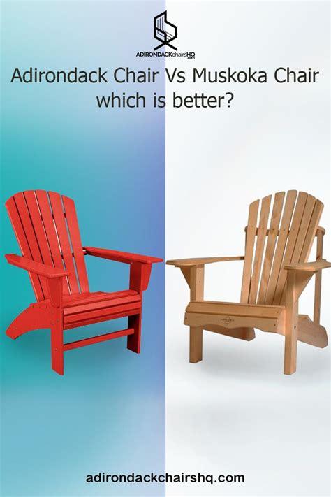 Muskoka-Vs-Adirondack-Chair