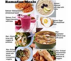 Best Muslim diet during ramadan