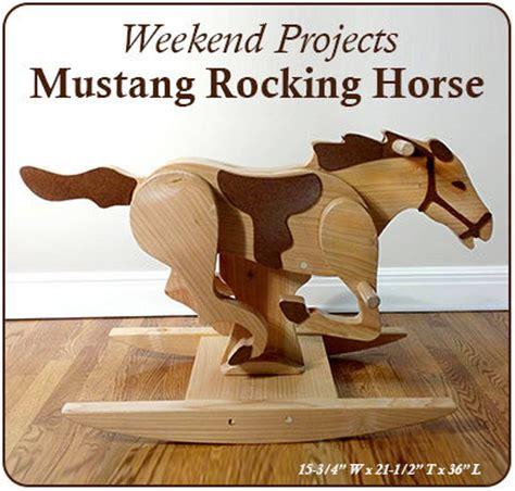 Mustang-Rocking-Horse-Plans