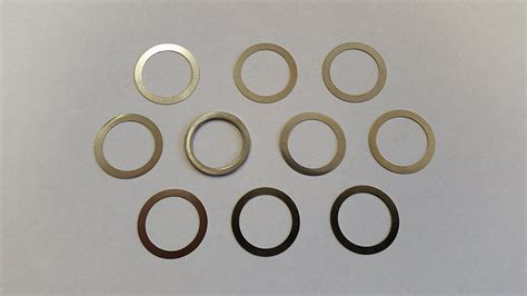 Muzzle Shim Kit Shim Kit For 5 8 Diameter Muzzles And Ar Trigger Hammer Jig Strike Industries