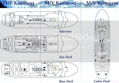 Mv Kennicott Deck Plan