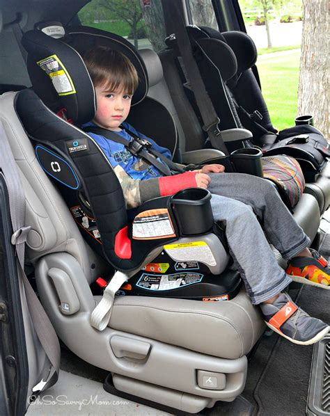 My Sons Carseat Reclines Into The Front Seats