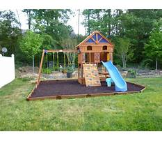 Best My outdoor plans playset