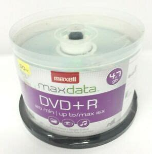 MyDirectAdvantage Maxell 639013 DVD+R Discs, 4.7GB, 16x, Spindle, Silver, 50/Pack