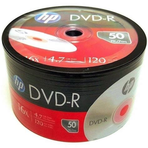 MyEco 1200 Pack DVD-R DVDR 16 X 4.7GB/120Min Logo Top Write Once Blank Media Record Disc