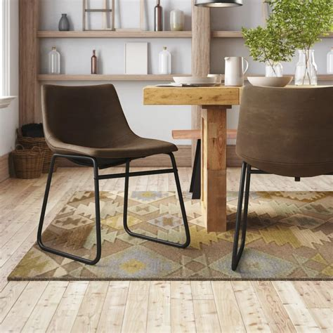 Myrick Upholstered Dining Chair By Union Rustic