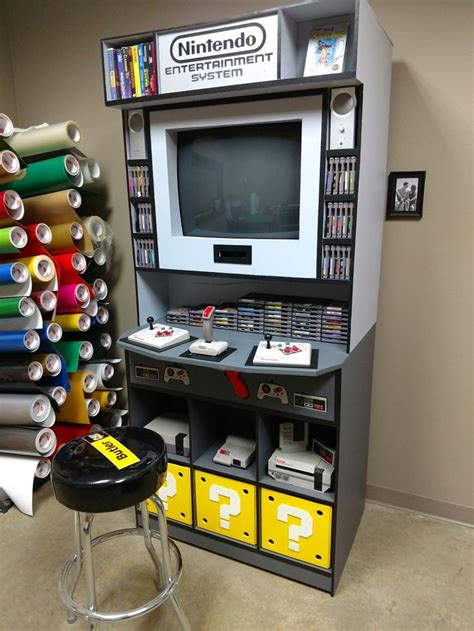 N64 Game Storage Diy Room