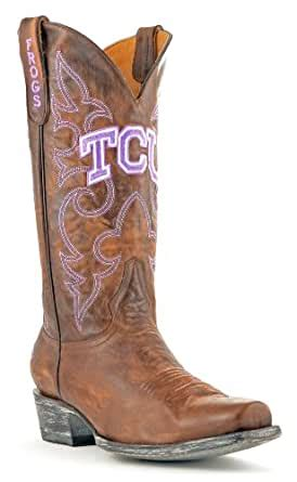 NCAA TCU Horned Frogs Men's Board Room Style Boots