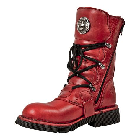 NEWROCK NR M.1473 S12 Red - New Rock Boots - Unisex