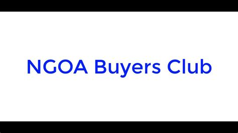 @ Ngoa Buyers Club - National Gun Owner.