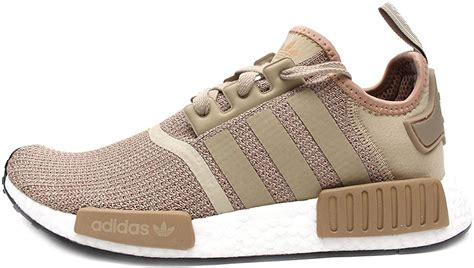 NMD R1 Mens in Raw Gold/Cardboard by, 5.5