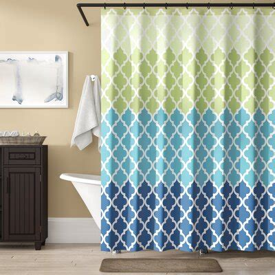 Nakasi Flat Shower Curtain