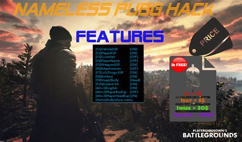 Nameless Hack PUBG