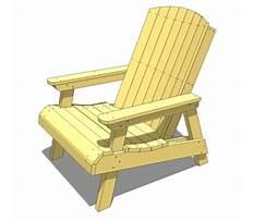 Best Nantucket chair plans