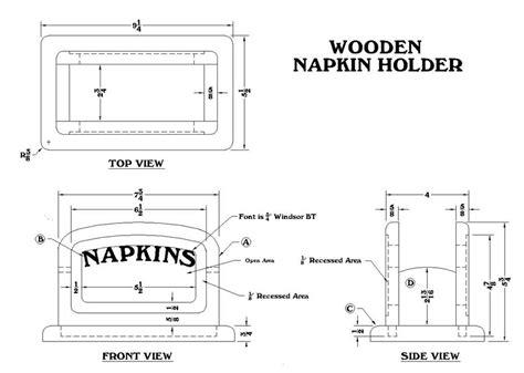 Napkin-Holder-Plans