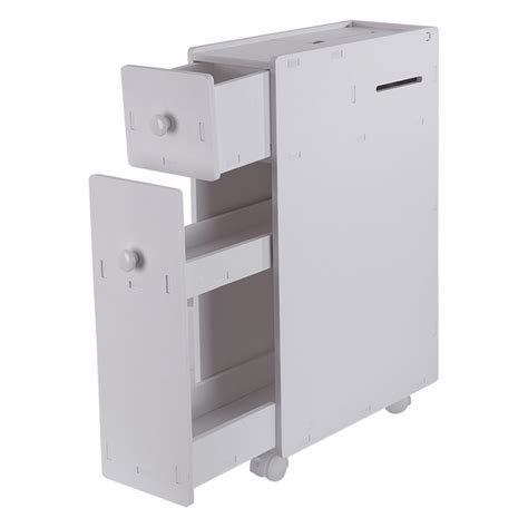 Narrow Floor Storage Cabinet