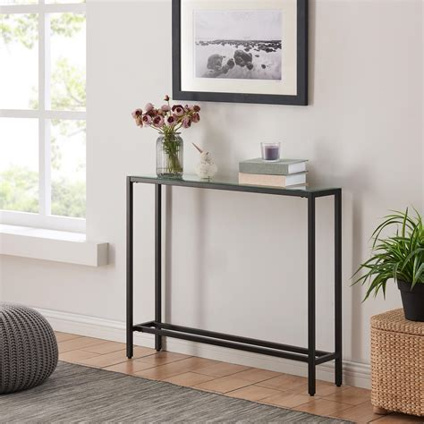 Narrow Glass Console Tables