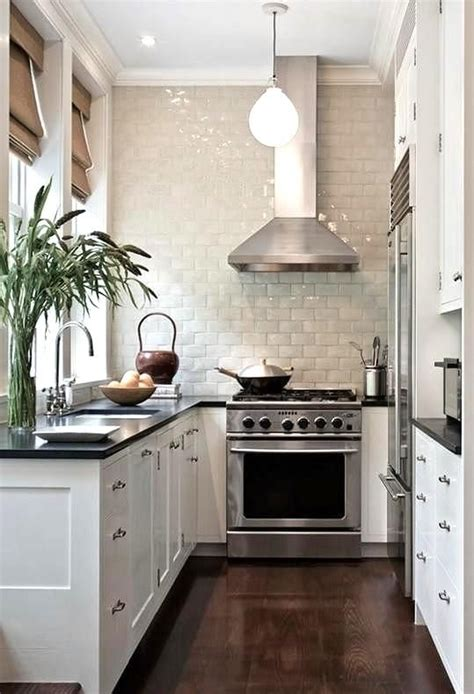 Narrow Kitchen Design Ideas
