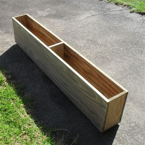 Narrow Long Deck Planter Box