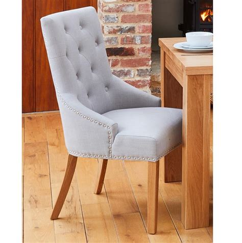 Narrow Oak Dining Chairs