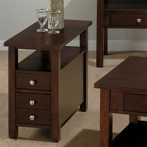 Narrow Side Table With Drawers