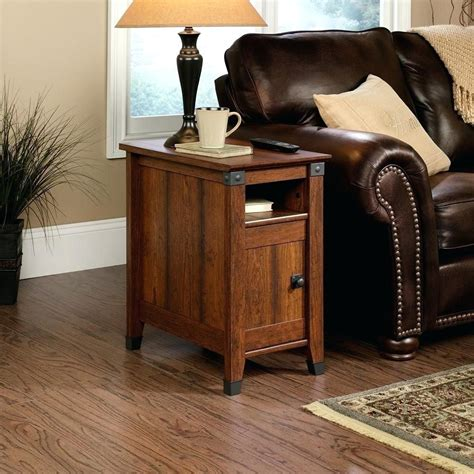 Narrow Side Table With Light