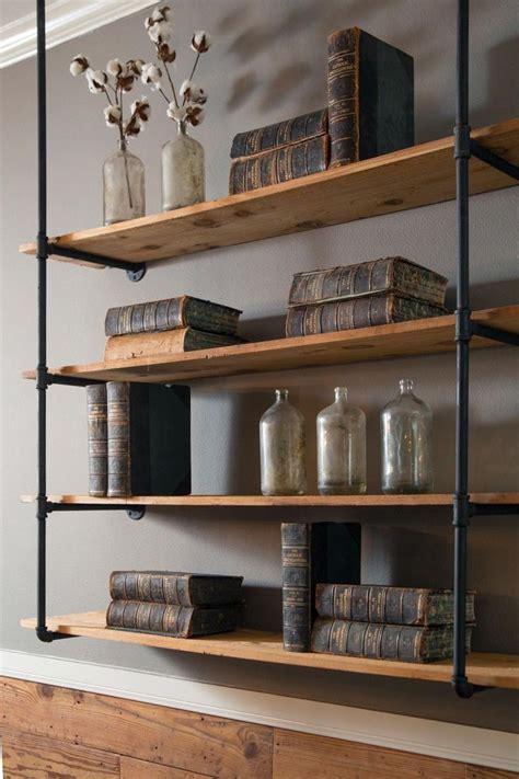 Narrow-Freestanding-Shelves-Diy-Idea