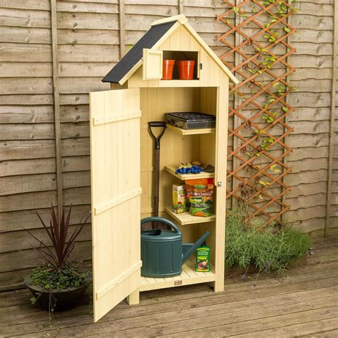 Narrow-Tool-Shed-Plans