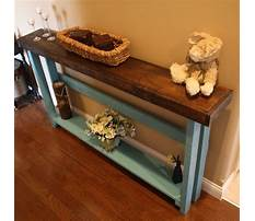 Best Narrow couch end tables