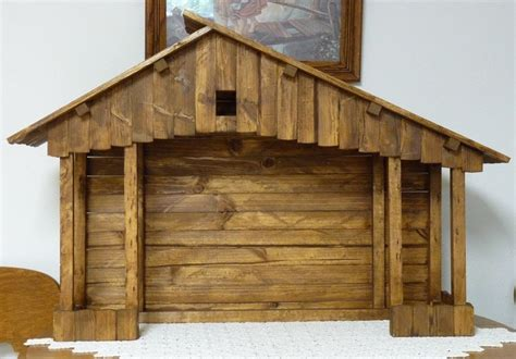 Nativity Stable Plans F