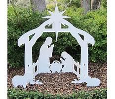 Best Nativity set plans outdoor