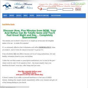 @ Natural Acid Reflux Guide - Blue Heron Health News - Gtpss42p.