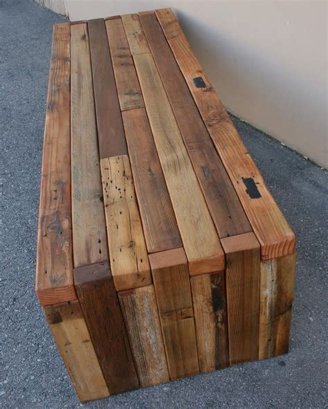 Natural Wood Coffee Table Diy Bench