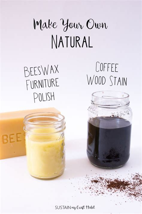 Natural Wood Polish Diy Coffee