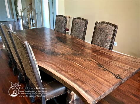 Natural Wood Tables Dining Slab