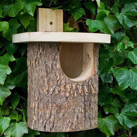 Natural bird house plans Image
