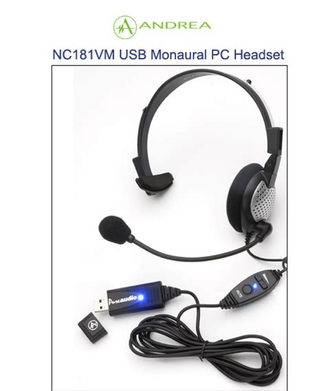 Nc181 Volume Mute USB Headset