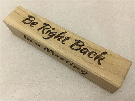 Neat Diy Wood Carved Name Plates