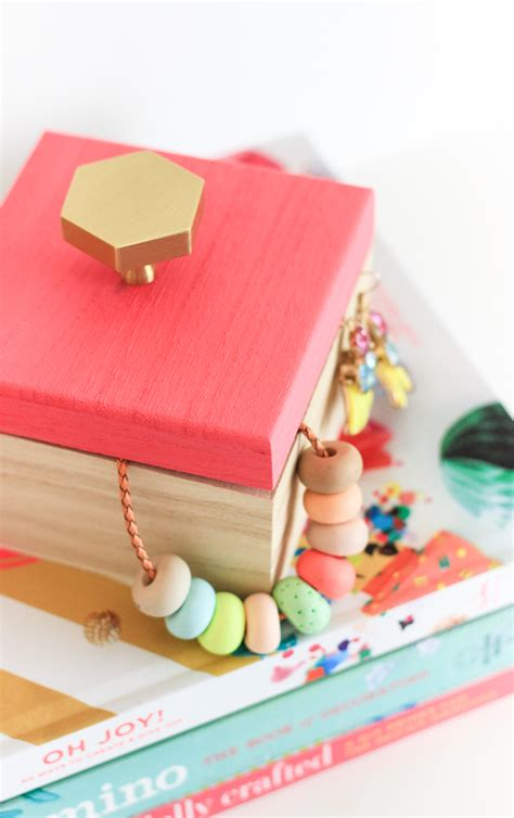 Necklace Box Diy