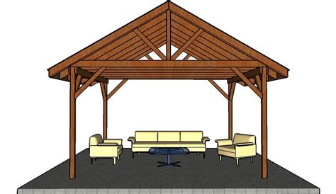 Need Plans For A 16by16 Picnic Shelter Designs