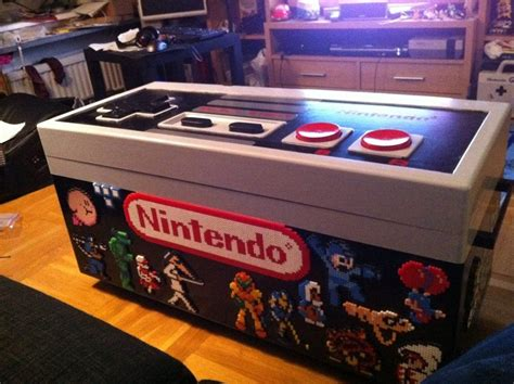 Nes Controller Table Diy With Shelf