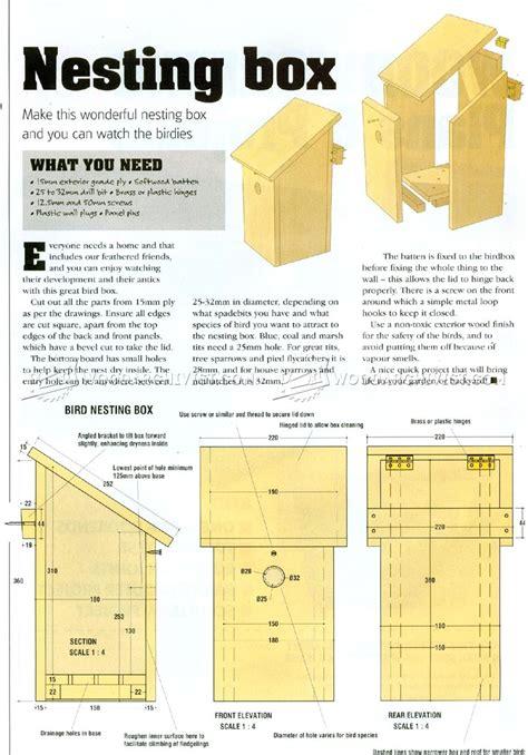 Nesting-Box-Wood-Plans