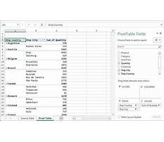 Best Nesting tables excel